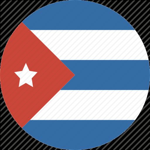 Circle, Cuba Icon