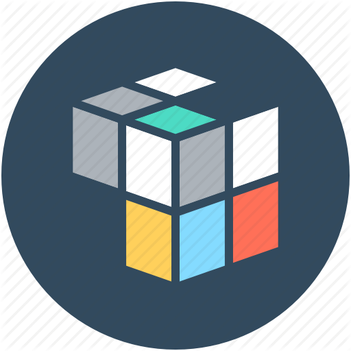Cube, Cubic, Graphic, Puzzle Cube, Rubik's Cube Icon