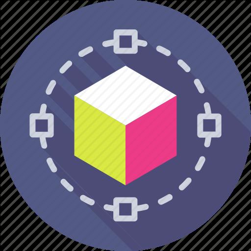 Cube, Cube, Design, Geometrical, Shape Icon