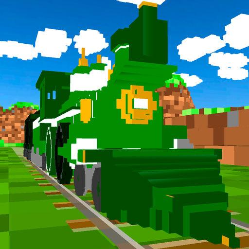 Cube World Train Driver