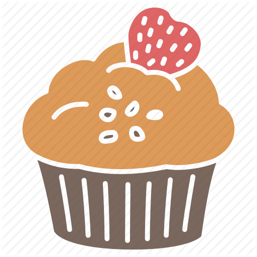 Cake, Cup, Cupcake, Cupcake Icon, Cupcake Muffin, Muffin, Muffin