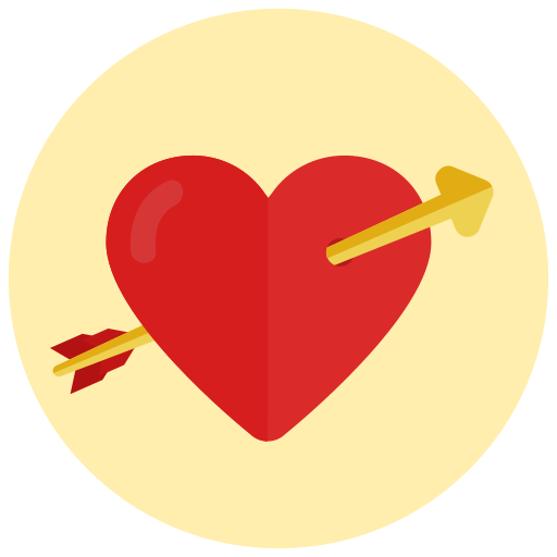 Cupid Arrow, Heart, Love Icon Free Of Valentine's Icons