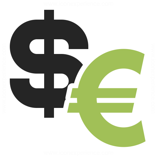 Dollar Euro Currency Icon Free Icons