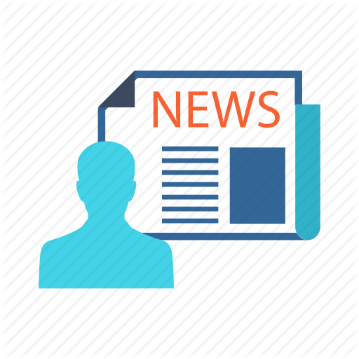 Current Affairs, Editor, Media, News, News Editor Icon