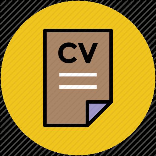 Bio Data, Curriculum Vitae, Cv, Job Application, Profile, Resume Icon