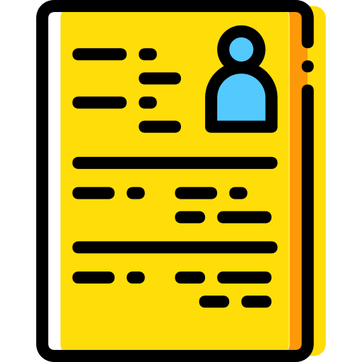 Curriculum Resume Png Icon