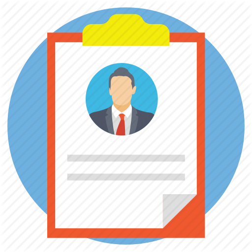 Curriculum Vitae, Cv, Personal Account, Profile, Resume Icon