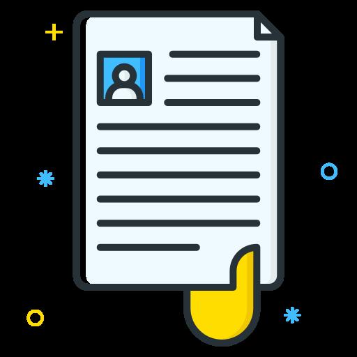 Cv, Document, File, User, Curriculum Icon Free Of Free Job Seeker