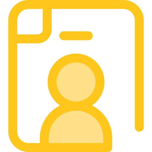 Candidate, Seo And Web, Search, Work, Curriculum Icon