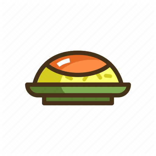 Curry, Curry Rice, Food, Rice Icon