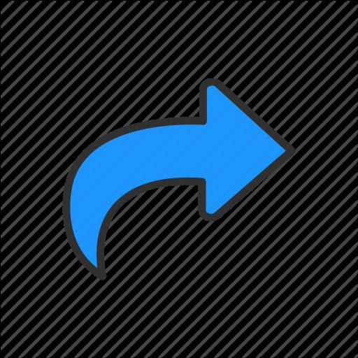 Arrow, Cursor, Download, Share Icon