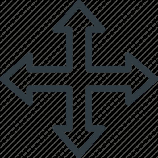 Arrow, Cursor, Directions, Mouse, Move, Pointer Icon