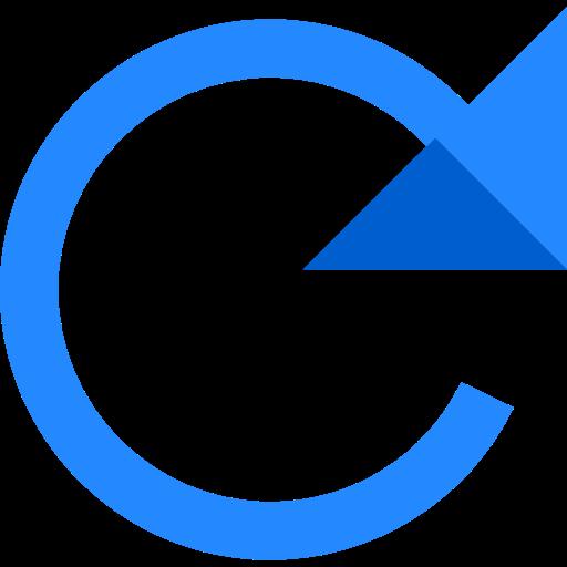Multimedia Option, Circular Arrow, Arrows Icon