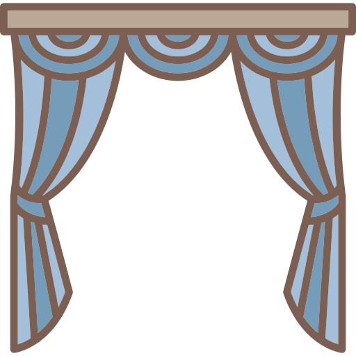 Curtains Png Icon