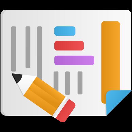 Custom Reports Icon Flatastic Iconset Custom Icon Design