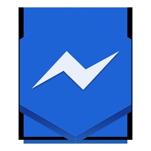 Messenger Icon Hex Iconset
