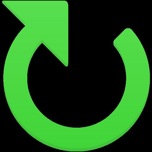 Clockwise Arrow Icon Flatastic Iconset Custom Icon Design