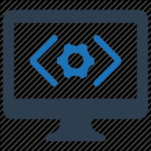 Coding, Custom, Programming, Website Development Icon