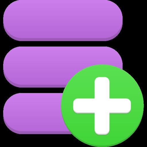 Data Add Icon Flatastic Iconset Custom Icon Design
