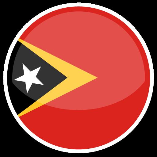 East Timor Icon Round World Flags Custom Icon Design