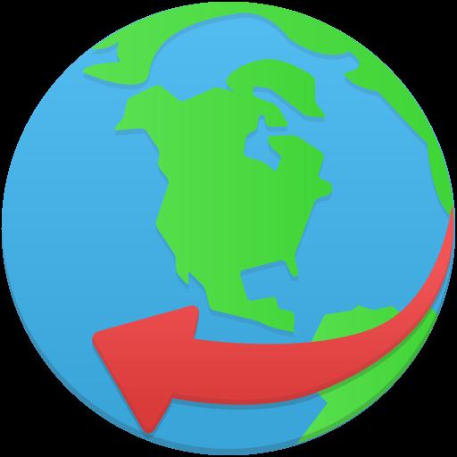 Globe Service Icon Flatastic Custom Icon Design