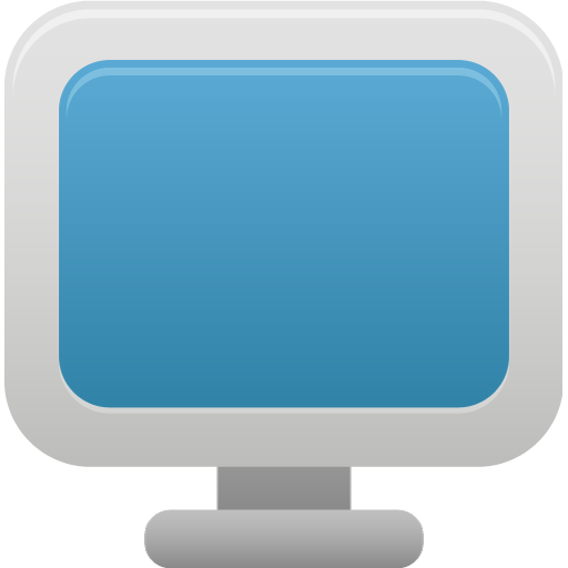 Monitor Icon Pretty Office Iconset Custom Icon Design