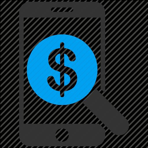 Audit, Bank, Dollar, Finance, Iphone, Money, Smartphone Icon