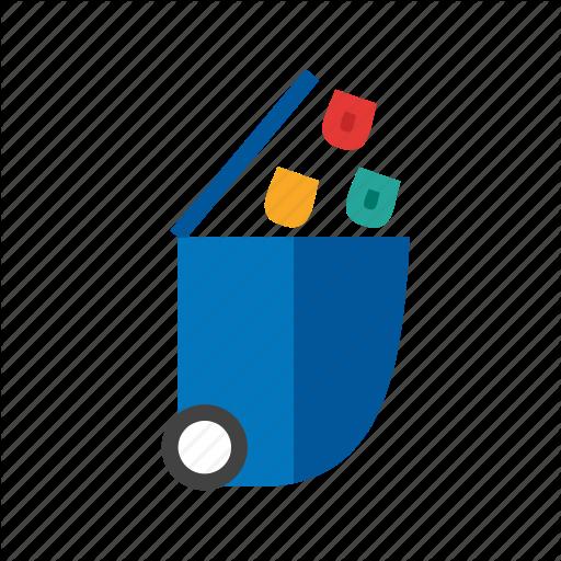 Basket, Bin, Dustbin, Garbage, Recycle, Recycling, Trash Icon