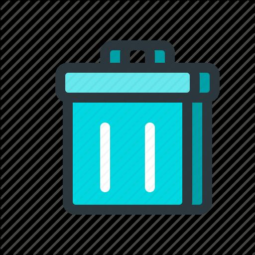Bin, Delete, File, Mail, Message, Recycle, Remove, Trash Icon