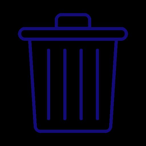 Clean, Delete, Garbage, Recycle Bin, Trash Icon