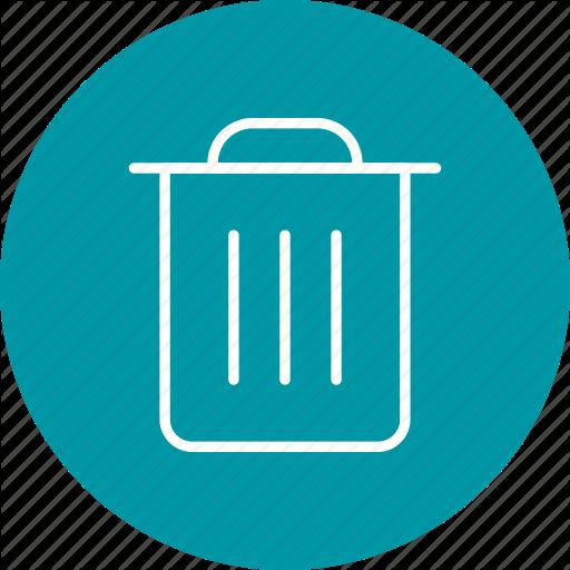 Delete, Dust Bin, Recycle Bn