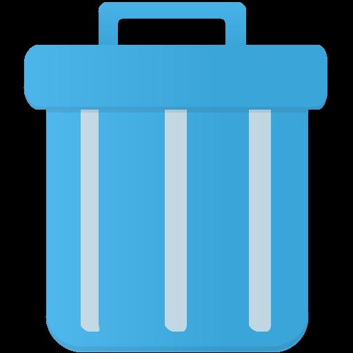 Trash Icon Flatastic Iconset Custom Icon Design