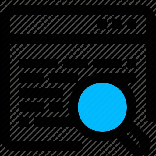 Application, Data, Search, Windows Icon