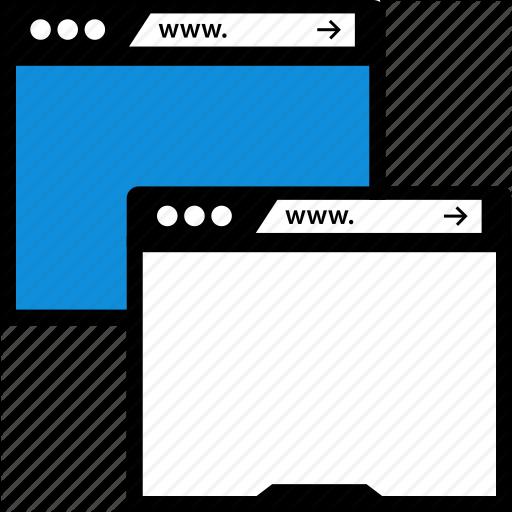 Duplicate, Two, Windows Icon