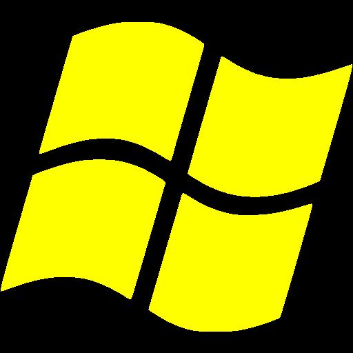 Yellow Os Windows Icon