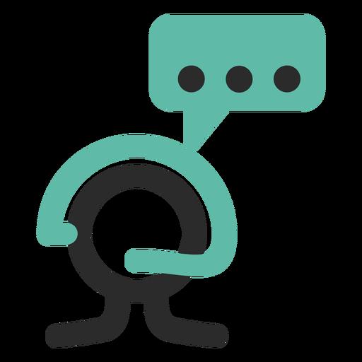 Customer Service Colored Stroke Icon