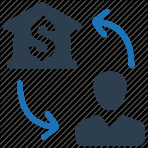 Bank, Banking, Customer, Relationship, Transaction Icon