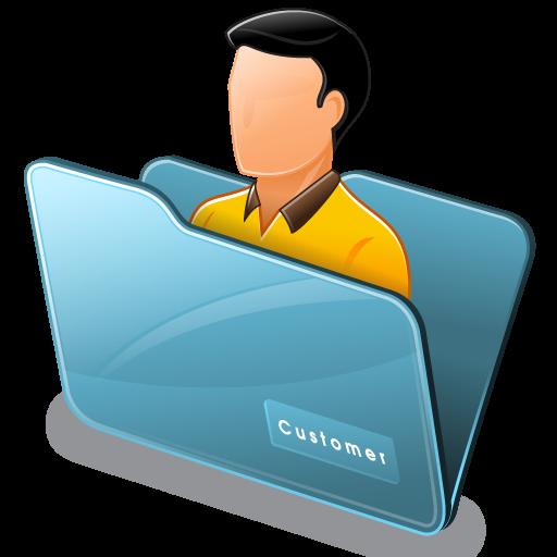 Folder Customer Icon