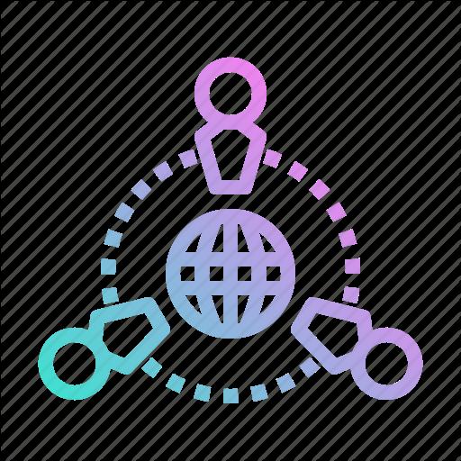 Businessman, Communication, Customer, Relationship, Seo, Teamwork Icon
