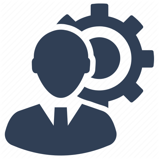 Customer Service, Gear, Management, Support, Tech Support Icon