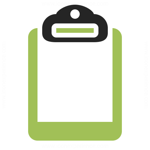 Clipboard Icon Iconexperience