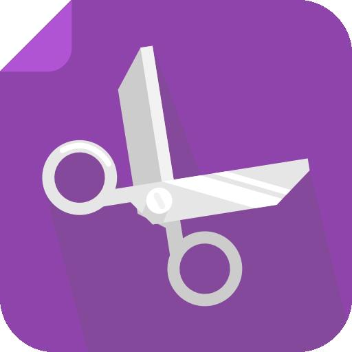 Cut Icon Square Iconset Flat