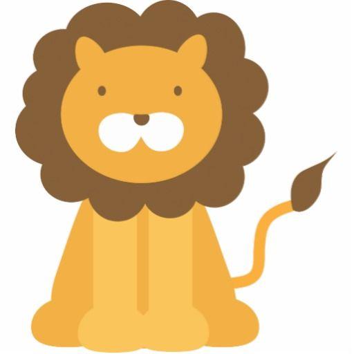 Cartoon Lion Cutout All Things Zazzle