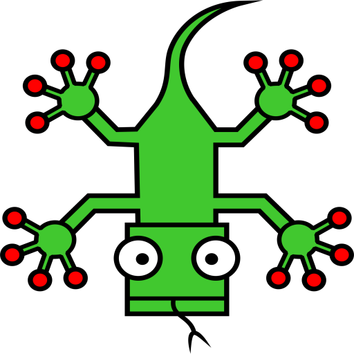 Lizard, Animal Icon Free Of Squared Animal Icons