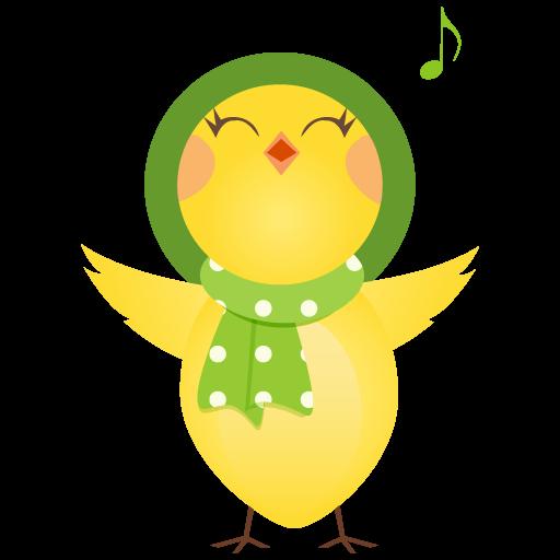 Singing Chicken Icon Cute Chicken Iconset Dapino