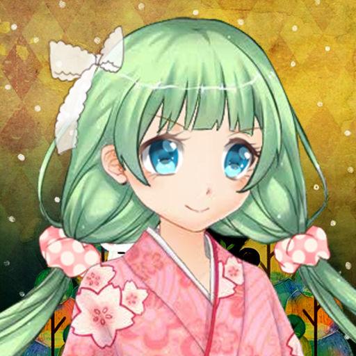 Cute Anime Girl Dress Up
