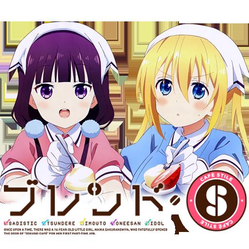 Blend S Anime Icon