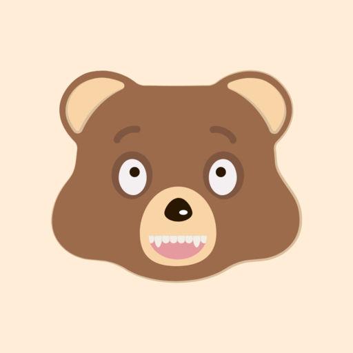 Cutie Bear Emoji Stickers