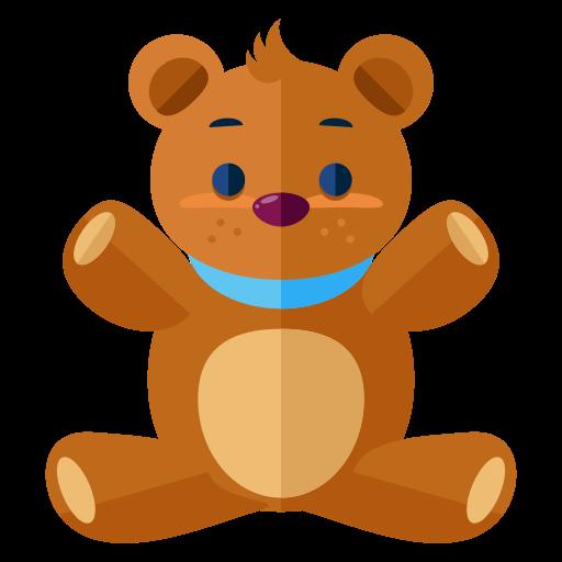 Teddy Bear Icon Free Of Free Flat Icons