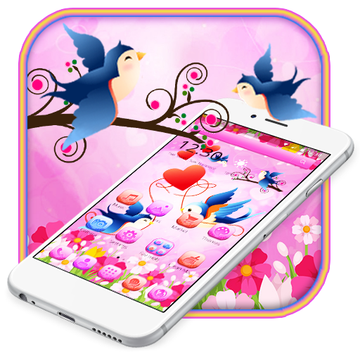Cute Love Birds Theme And Live Wallpaper Appstore